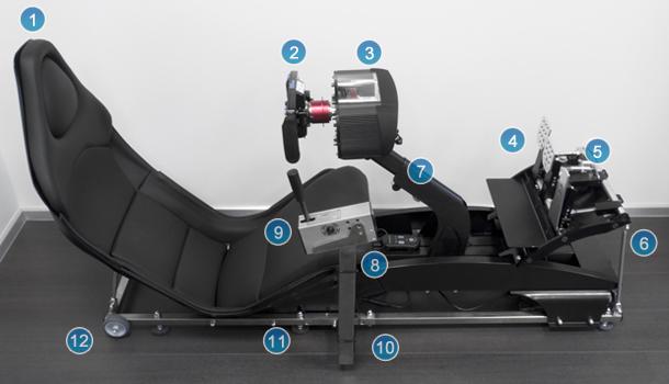 Homesim Race Simulator With Rfactor Memotec Messtechnik