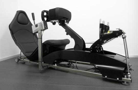 Homesim race Simulator with rFactor - memotec Messtechnik