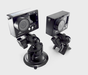AiM SmartyCam HD mounting